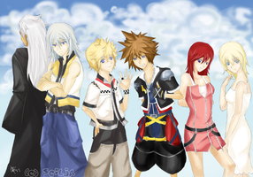 Kingdom Hearts 2: Reunion by Scilja