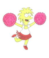 Lisa cheerleader by Shagggy1987