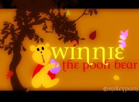 winnie the pooh bear by MIKEYCPARISII