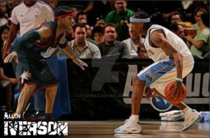 Allen VS. Iverson by chaskillz