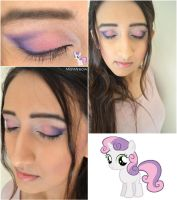 Sweetie Belle Makeup by MishMreow