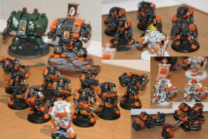 Space Marine Warhammer 40K Collection (Cerberus) by MoritzNina