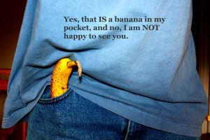 Banana in my Pocket by KeswickPinhead