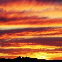 outback sunset over kata tjuta by globetrotter85