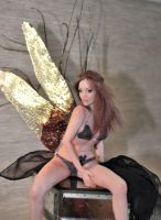 OOAK sculpture fairy Angelina by fairiesndreams
