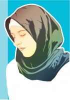 Girl on Hijab by astayoga