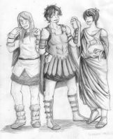 APH- Ancient Party by thatlinkgirl