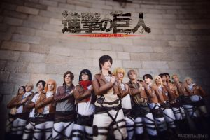 Attack on Titan by KoiCos
