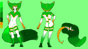 Forest Tail Mouth Adoptable -Open- by Da-Mushroom