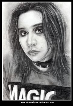 Me pencils on paper by deanaxlrose