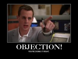 Tim McGee- OBJECTION! by GreenFire66