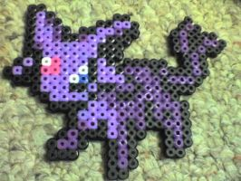 Espeon Pokemon by Ravenfox-Beadsprites