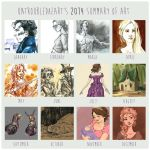 2014 Summary of Art by untroubledheart