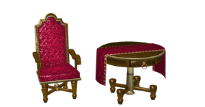 TABLE AND CHAIR PACK by Oo-FiL-oO