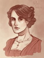 Mary Crawley by CrystalCurtis
