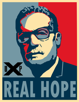 Allende Real Hope Poster by Party9999999
