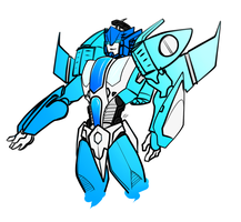 Seeker!Blurr by KusuKitty