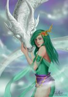Rydia and Mist by CLMac
