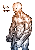 Quick Muscle Thing by AHKArt