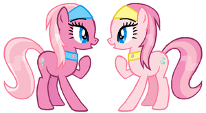 G3 Pinkie Twins by Durpy