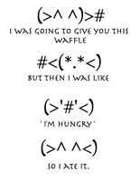 Waffle by Harry-Potter-Addict