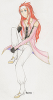 Zelos Wilder-Tales of Symphonia- Colored Sketch by ChaosSoda