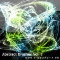 Abstract Brushes vol. 1 - 10x by basstar
