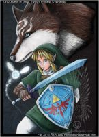 Link the Blue-Eyed Beast by benwhoski