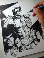 Judge Dredd - Marcio Abreu by MARCIOABREU7