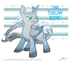 MLP - Frozen - Loki - The Snow King by caycowa