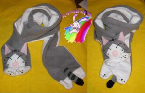 chii sweet home  CHII SCARF by chocoloverx3