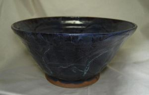 Large Blue Bowl by CaptainColossal
