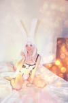 Cutie Bunny - SUPER SONICO COSPLAY by HaineYume