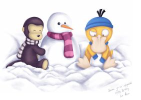 Teddy-G and Pysduck-for Steven by anakomb