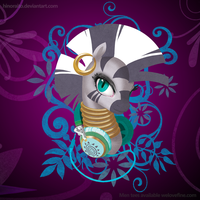 Zecora Headphone - Welovefine tee shirt - NA by hinoraito