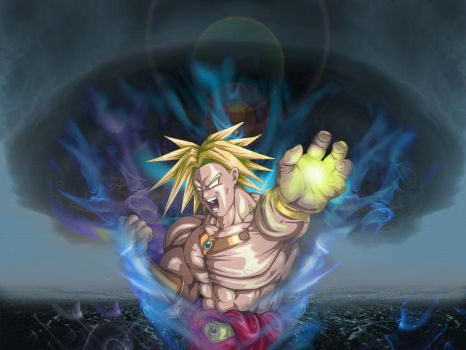 Broly by BakaSteamBoat