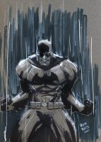 Batman rain by RodReis