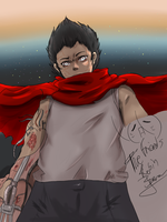 It seems like Tetsuo Shima but..... by PitchySoldier
