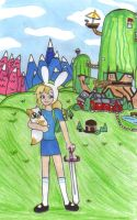 Adventure Time with Bionna by KessieLou