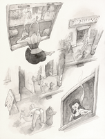 Small Moment Story Boards - Week Ten by Pandora-intheSKY