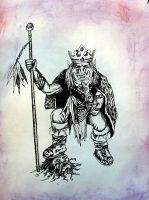Orc King by Darkmoonlilly