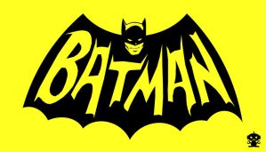 1966 Batman TV Show Title Logo by HappyBirthdayRoboto