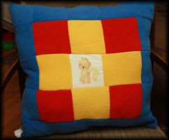 My Little Pony quilt pillow Applejack Rainbow Dash by PrimmRose