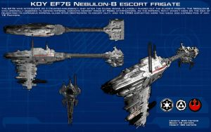 Nebulon-B Frigate ortho [New] by unusualsuspex