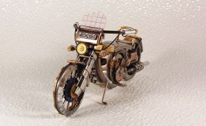 Motorcycles out of watch parts by dkart71