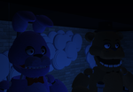 Animatronics on stage by Draggyy