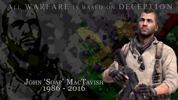 John 'Soap' MacTavish by Yesitha92