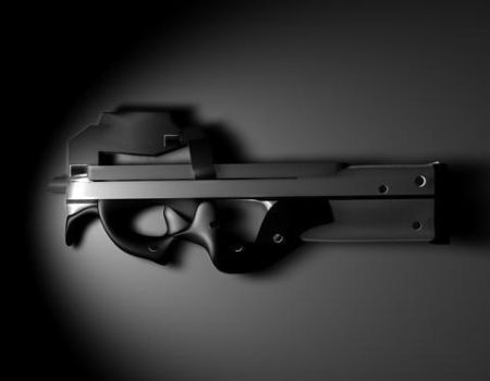 P90 Weapon Design by Morphieous