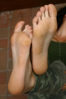 Franzi's soft soles of feet by foot-portrait