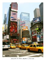 NYC- Welcome To Times Square by taoge